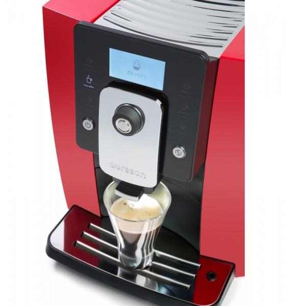 Espressor automat Oursson AM6244/RD, 1400W, 19 Bar, 1.8 l, Rosu 0