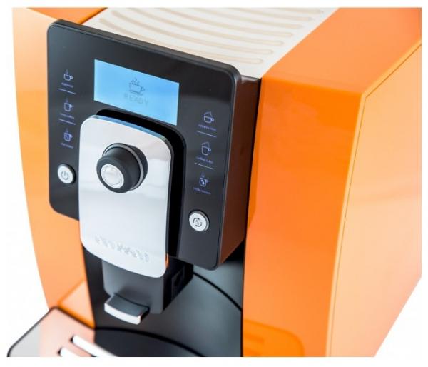 Espressor automat Oursson AM6244/OR, 1400W, 19 Bar, 1.8 l, Portocaliu [0]