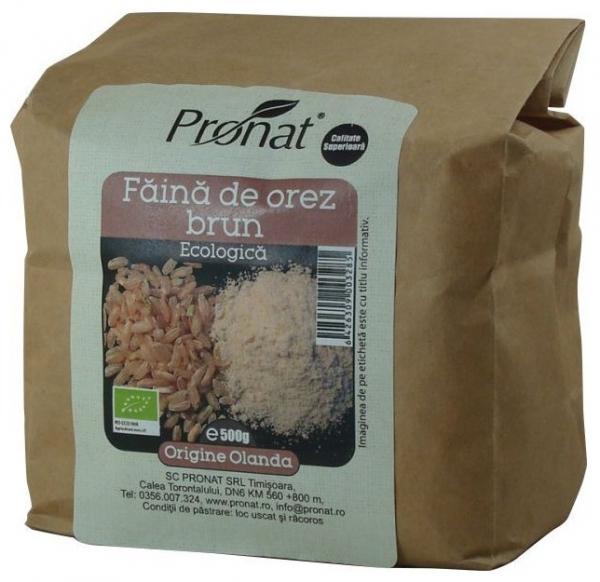 Faina de orez brun Bio- 500g 0