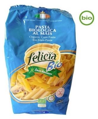 FELICIA BIO  - Penne organice din malai si orez, 500 g 0