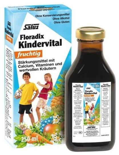 Floradix Elixir bio cu fructe, vitamine si plante copii, 250ml SALUS HAUS 0