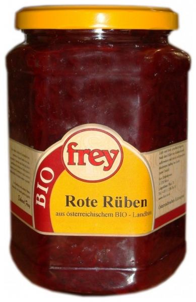 FREY - Sfecla rosie Bio, 670 g 0