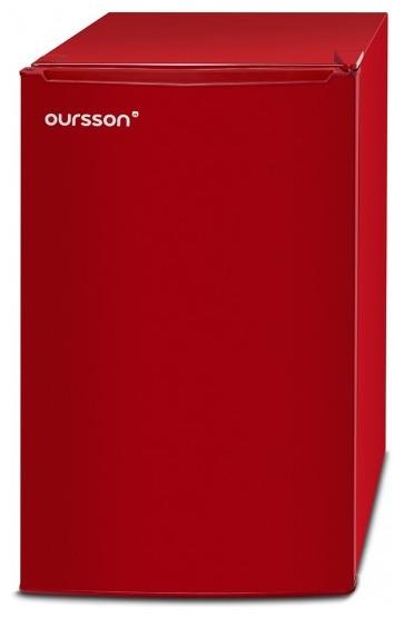 Frigider Oursson RF1005/RD, Clasa A+, H 83cm, 103 L, Camera Zero - 0°C, Rosu [0]