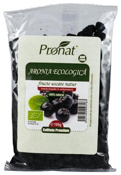 Fructe Bio de aronia uscate, 100 gr 0