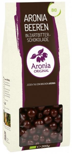 Fructe ARONIA glazurate in ciocolata Belgiana 200 gr 0