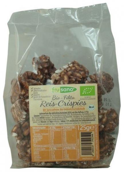 Frusano - Mini turte crocante de orez expandat cu ciocolata, 125g 0