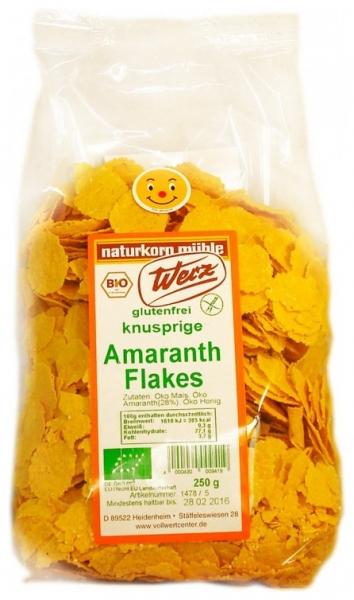 Fulgi Bio de amaranth, fara gluten, 250 g 0