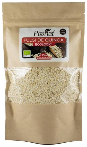 Fulgi Bio de quinoa, 250 g 0