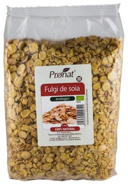 Fulgi Bio de soia, 500 g 0