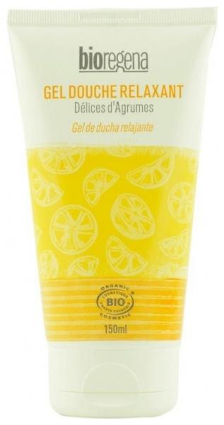 Gel de dus relaxant cu citrice, Bioregena, bio, 150 ml 0