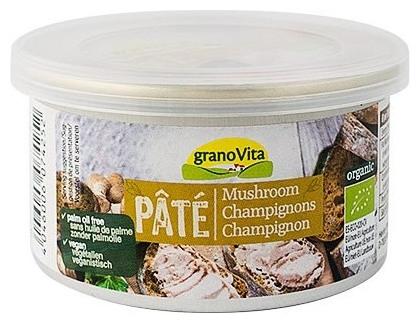Grano Vita - Pate cu ciuperci, 125g [0]