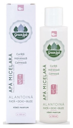 Green Lab - Apa micelara pentru ten sensibil, 150ml 0