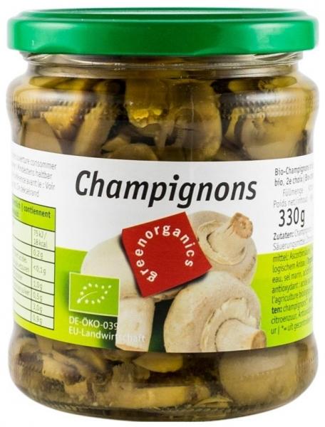 - Ciuperci Champignon Bio, 330g/170g 0