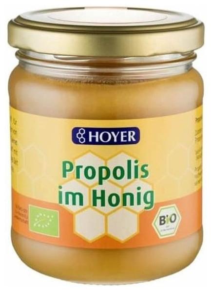 Hoyer- Miere bio cu propolis, 250 g 0