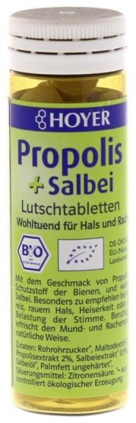 Propolis si salvie - Tablete Bio de supt, 60 de Tablete 0