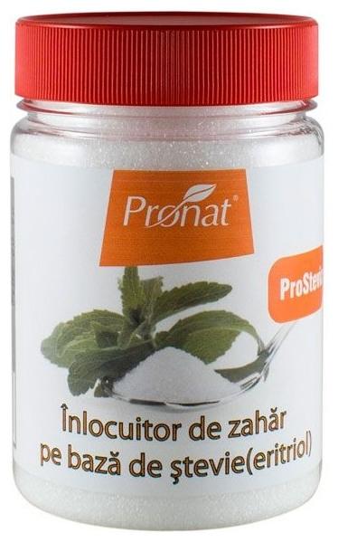 Inlocuitor de zahar pe baza de stevie (eritritol), 250 g