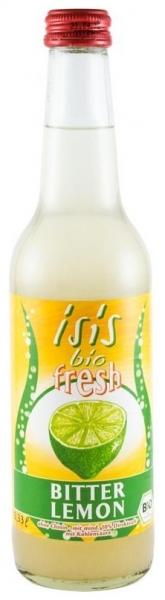 Suc carbogazos BIO bitter lemon, 0,33L 0