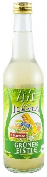 Suc carbogazos BIO din ceai verde, 0,33L 0