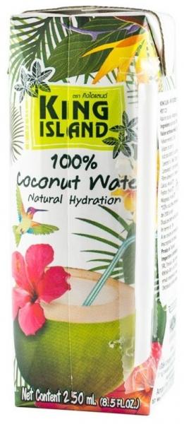 KING ISLAND – Apa de cocos 100%, 250 ml [0]