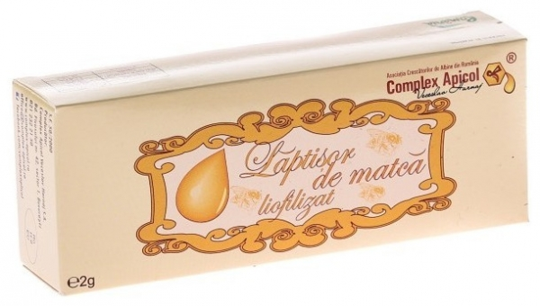 Laptisor de matca liofilizat, 10 fiole 0