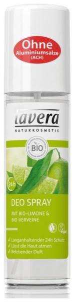 Deodorant spray cu lamaie si verbina, 75 ml