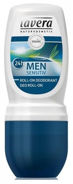MEN Sensitive 24h - Deodorant roll-on cu lemongrass si bambus, 50 ml 0