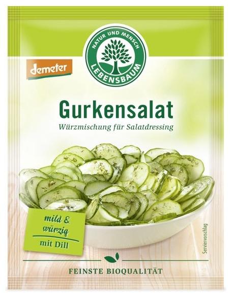 Amestec BIO de condimente pentru salata de castraveti, 3x5g 0