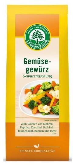 Amestec de condimente BIO pentru legume, 60g