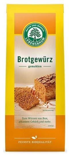 Amestec de condimente BIO pentru paine, 50g 0