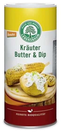 Amestec de ierburi aromatice BIO pentru sosuri si unt, 80 g 0