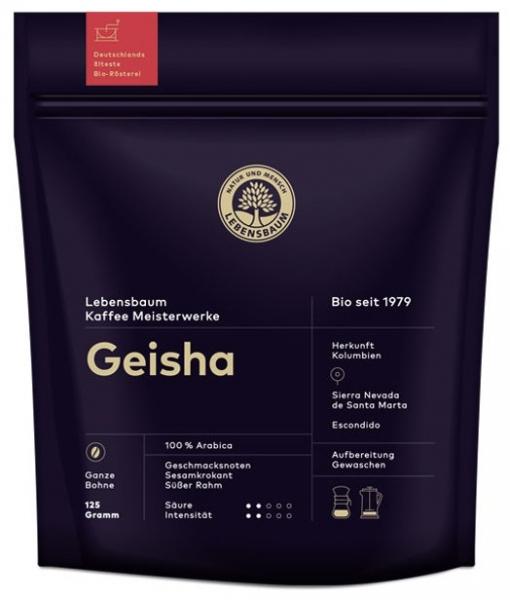 cafea BIO boabe Geisha, 125g 0