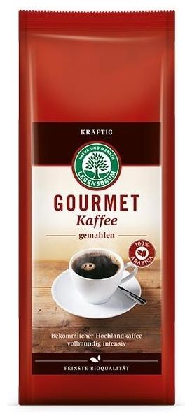 Cafea bio macinata Gourmet STRONG - 100 % Arabica, 500 g 0