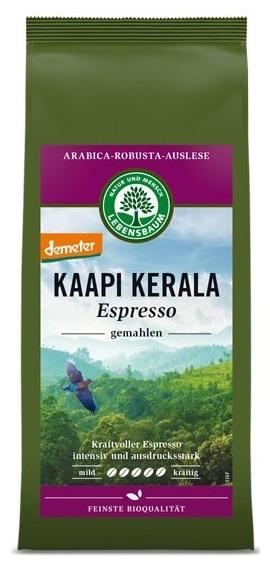 Cafea macinata expresso Kaapi Kerala BIO - Selectie Arabica si Robusta, 250g 0