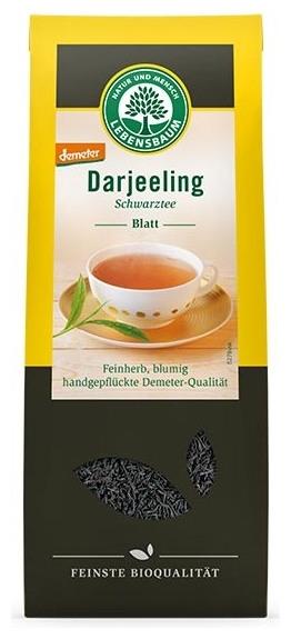 Ceai bio negru Darjeeling, 100 g 0