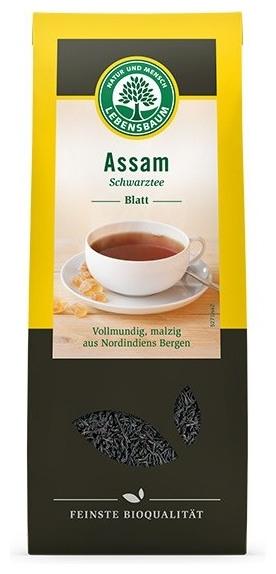 Frunze de ceai negru Assam BIO, 100g 0