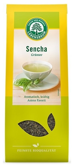 Frunze de ceai verde japonez in stil Sencha, BIO, 75g 0