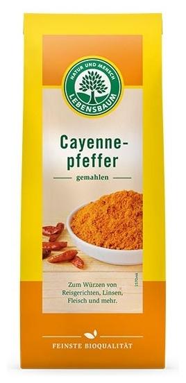 Piper bio Cayenne macinat, 50g 0