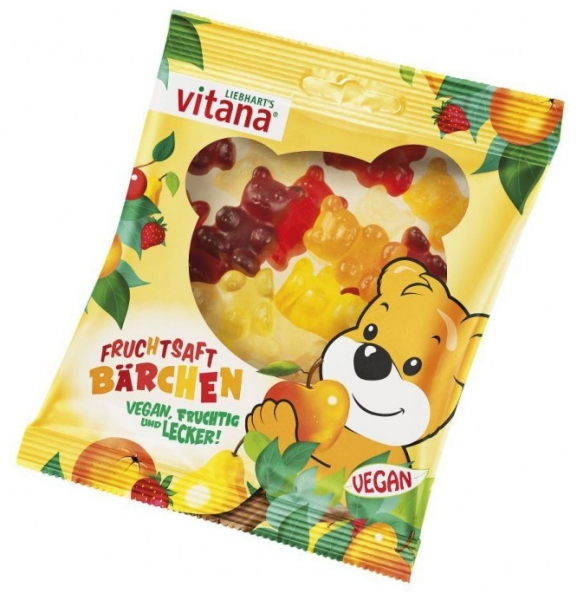 Ursuleti din fructe, fara gelatina, 100 g 0
