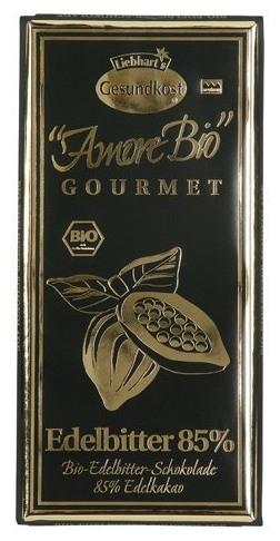 Ciocolata Gourmet BIO 85% Cacao 100gr 0