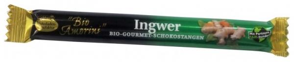 Baton de ciocolata Bio Gourmet cu ghimbir, 35 g 0