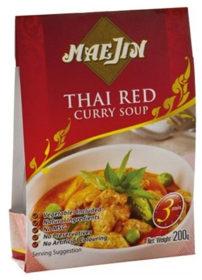 MaeJin-Thai Red - Supa curry rosu, 200g 0