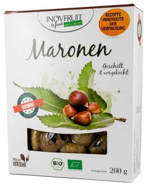 MARONEN - Castane comestibile bio, 200g 0