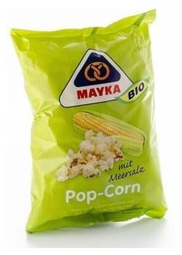 Popcorn BIO cu sare de mare, 40 g 0