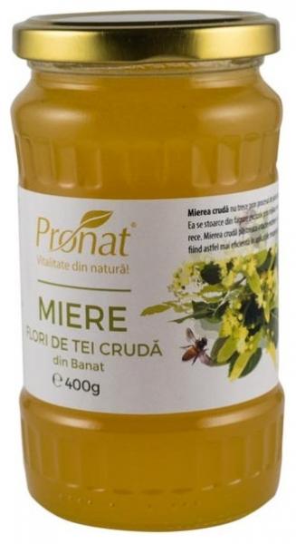 Miere din flori de tei cruda 400g 0