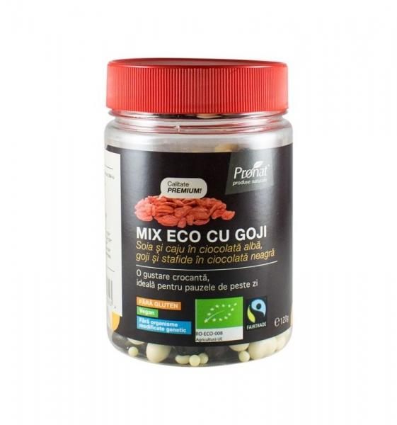 Mix Bio cu goji - fructe uscate, 120gr 0