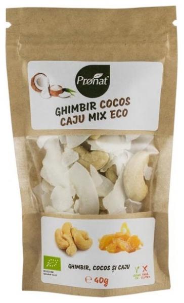 Mix bio de ghimbir, cocos si caju 40 g 0