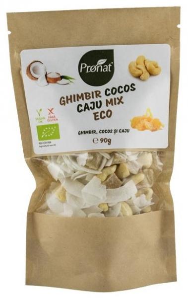 Mix bio de ghimbir, cocos si caju 90 g 0