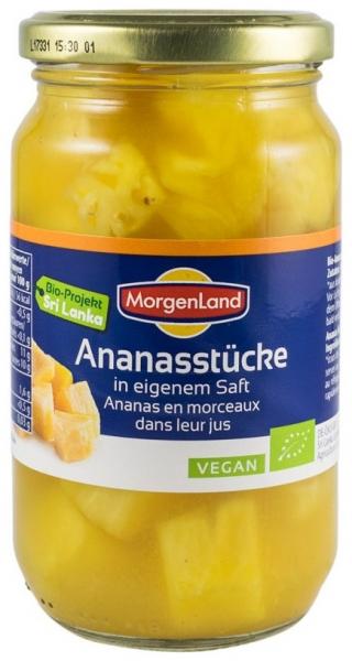 Ananas bucati in suc propriu, 350 g 0