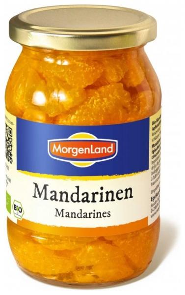 Mandarine compot, bio, 350 g 0