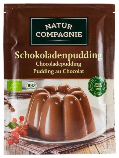 Budinca bio de ciocolata, 43g [0]